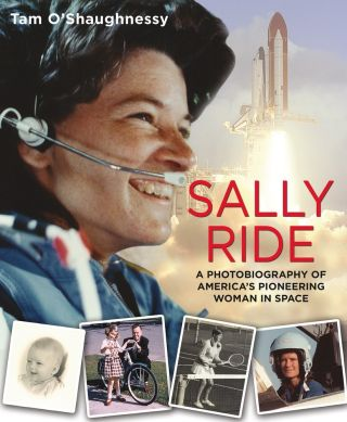 Sally Ride Photobiography Book