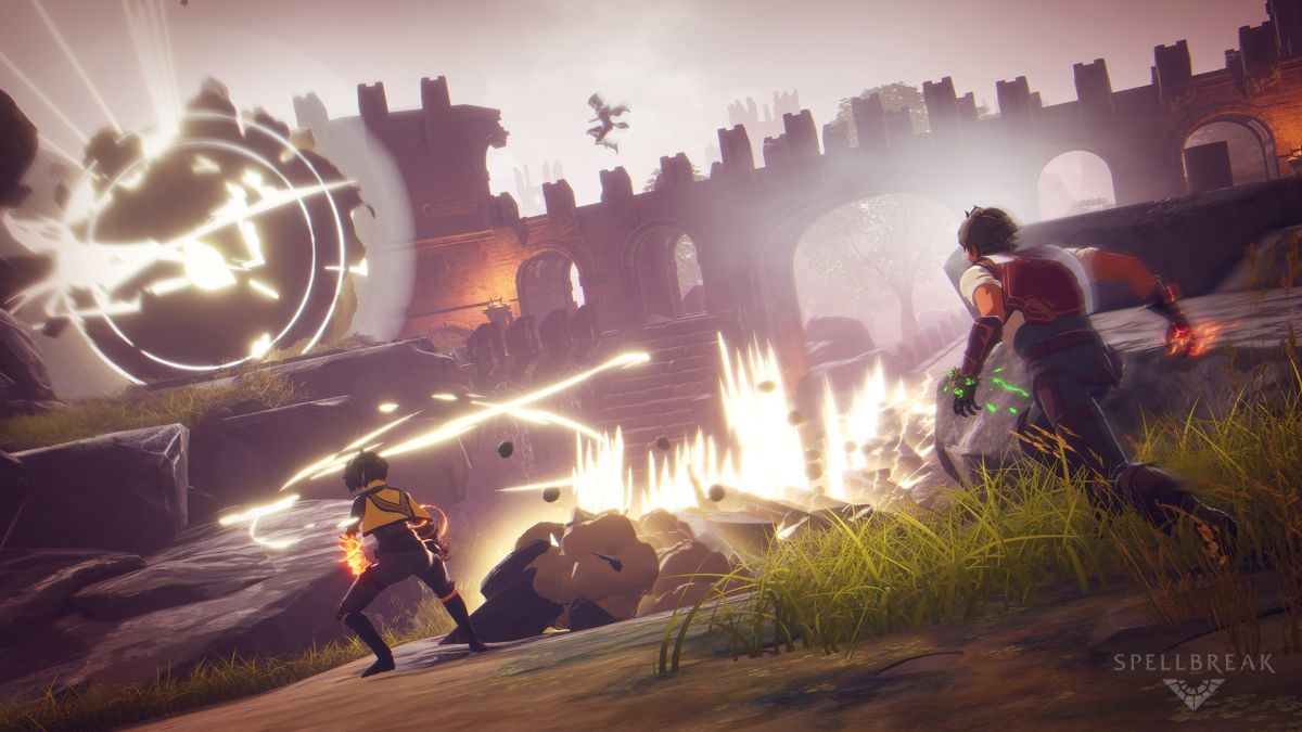 Spellbreak's mage-based battle royale turns you into a magical superhero