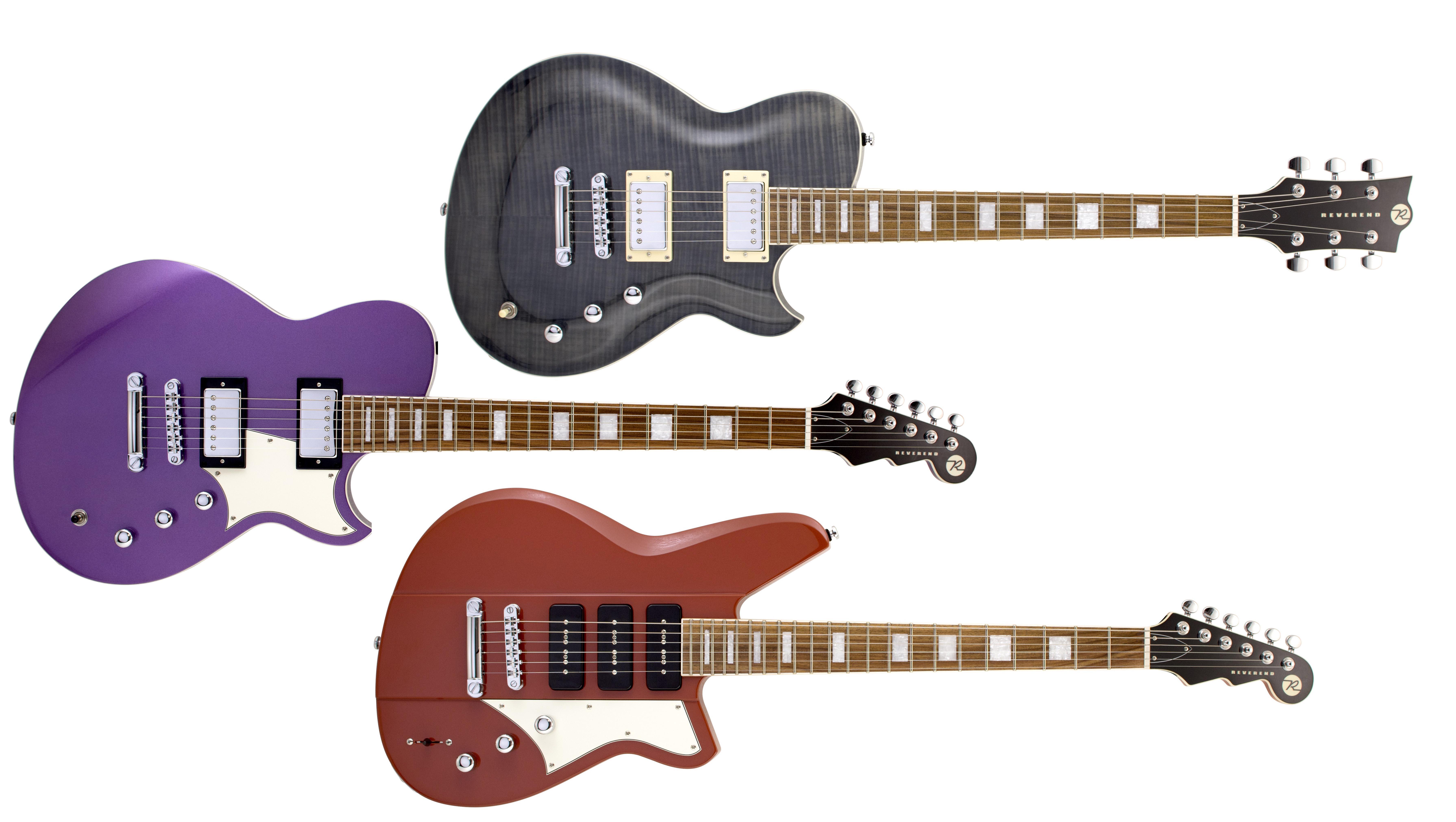 Namm 2020 Reverend Unveil Three New Guitar Models Musicradar