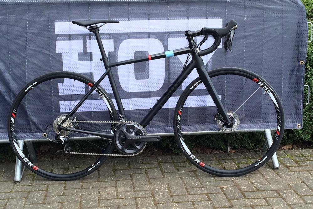 Sir Chris Hoy Unveils His New Top Of The Range Aluminium Bike
