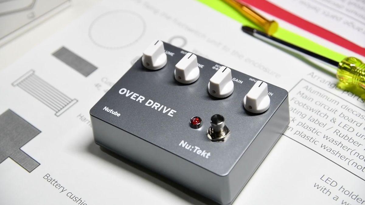 NAMM 2020 video: Take a look at Korg's easy-to-build overdrive pedal kit - The Nu:Tekt ODS Build