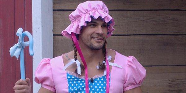 Big Brother 21 Jack dressed as Little Bo Peep CBS