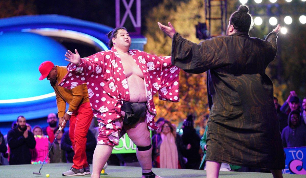 holey moley the distractor sumo abc