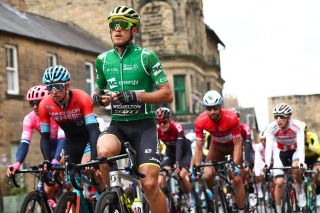 Matteo Trentin during Stage 3 of the Tour of Britain