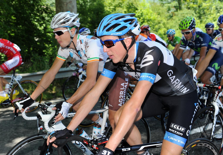 Daniel Martin and Nicolas Roche, Criterium du Dauphine 2011, stage one