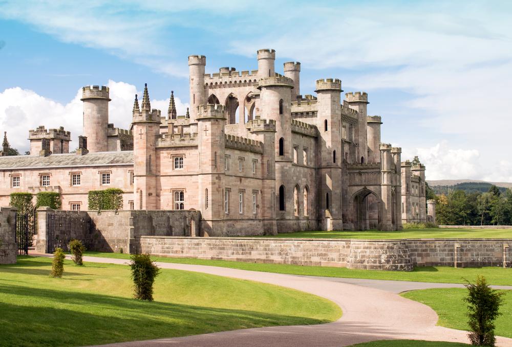 Lowther Castle Park Photograph