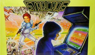 A Starcade poster