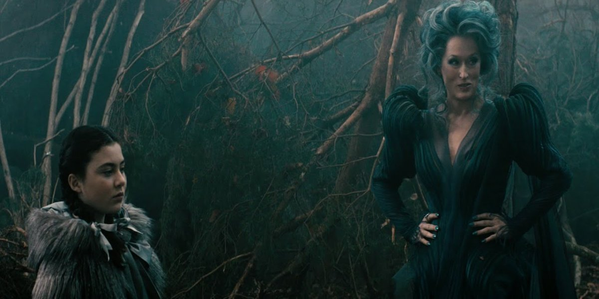 Little Red Riding Hood and The Witch in Into The Woods.
