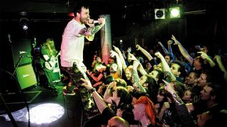 Cancer Bats performing live