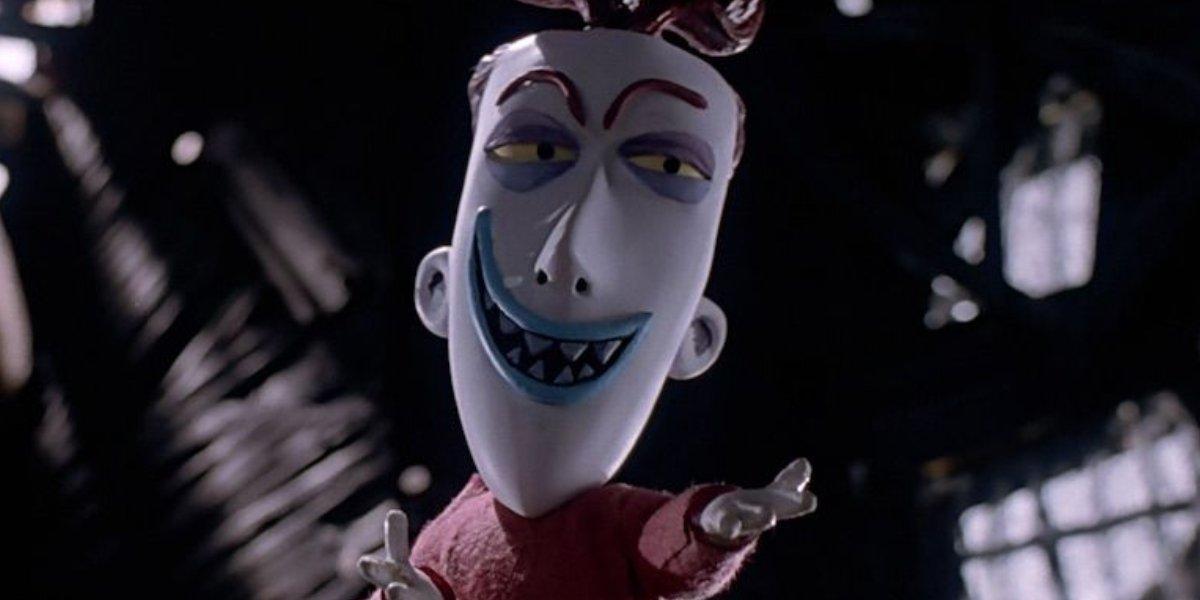Paul Reubens as Lock in The Nightmare Before Christmas