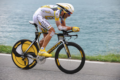 George Hincapie, Tour de France 2009, stage 18 TT