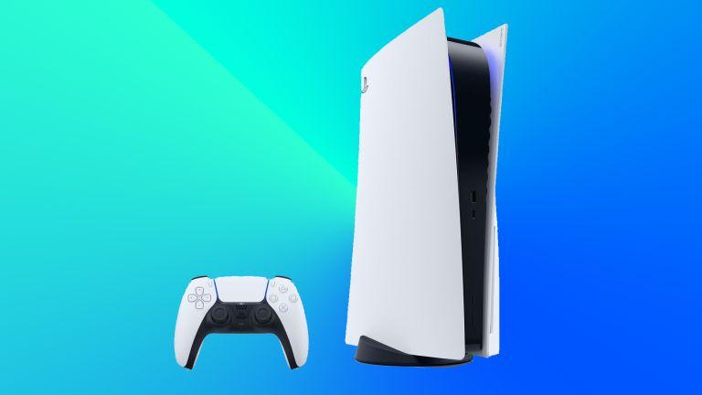 PS5 blue