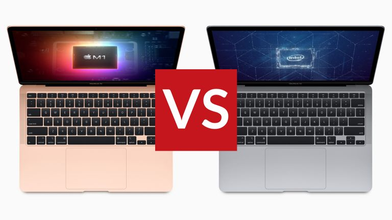 Apple MacBook Air M1 vs Intel 2020