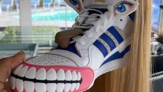 Adidas trainer design