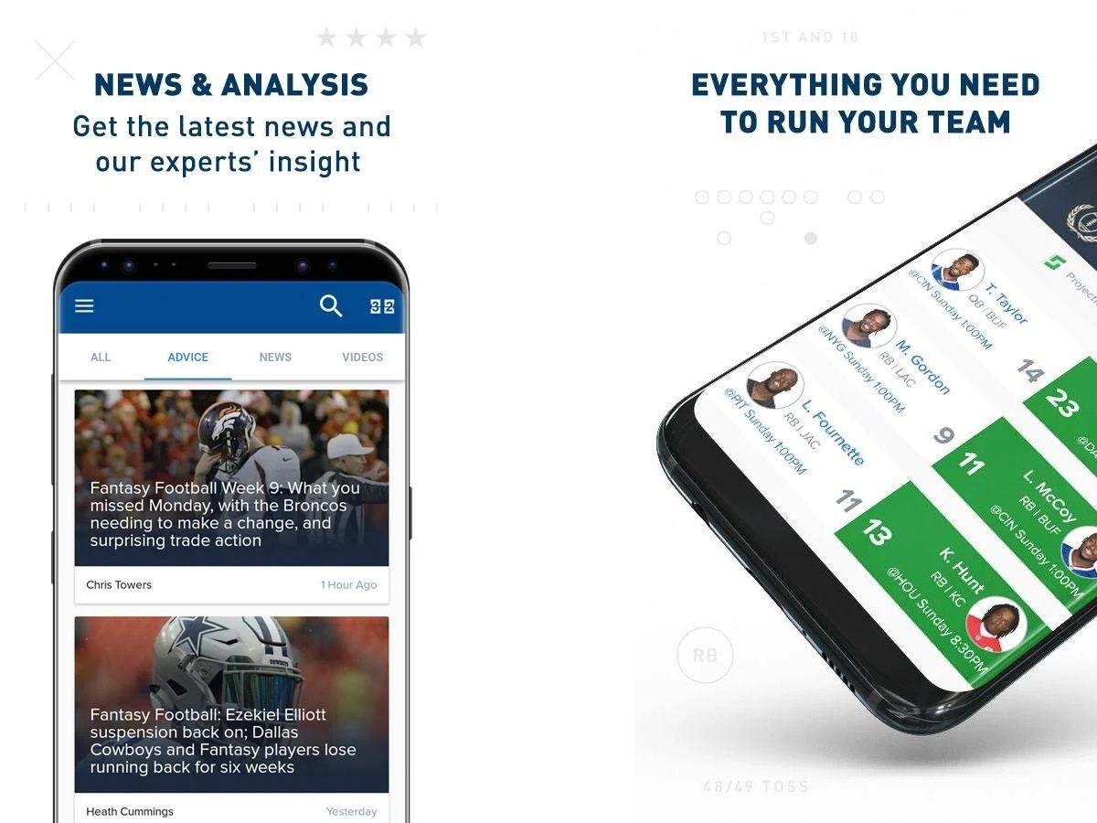 Best Fantasy Football Apps | Tom's Guide