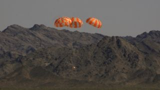Orion Spacecraft Parachute Test