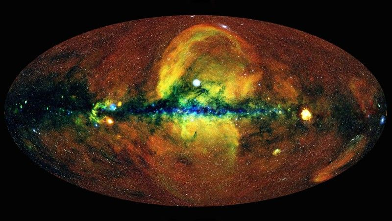 New map of the universe unveils a stunning X-ray view of the cosmos