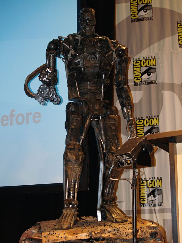 Comic Con In Photos: Terminator Salvation's T-600 #116