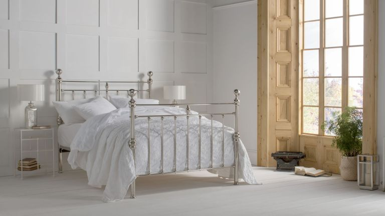 Arthur bed from the Wrought Iron & Brass Bed Co Period Living collection