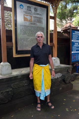 Steve Lansing in Bali