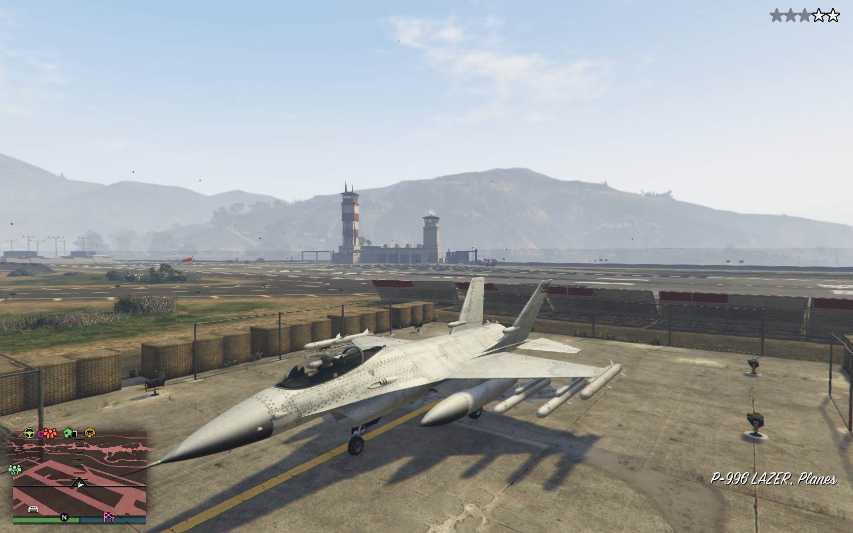 You can now buy the old Lazer jet in GTA Online for an eye