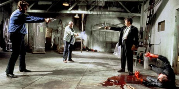 Reservoir Dogs shoot-out