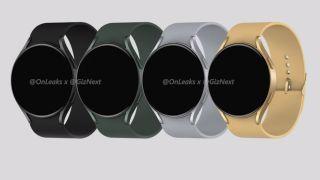 Renders based on alleged Galaxy Watch 4 leaks