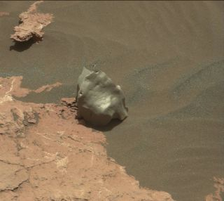 'Ames Knob' Rock on Mars