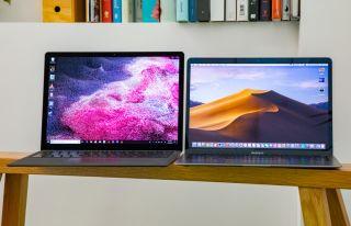 MacBook Air vs. Surface Laptop 2