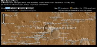 'People's Map' of Mars