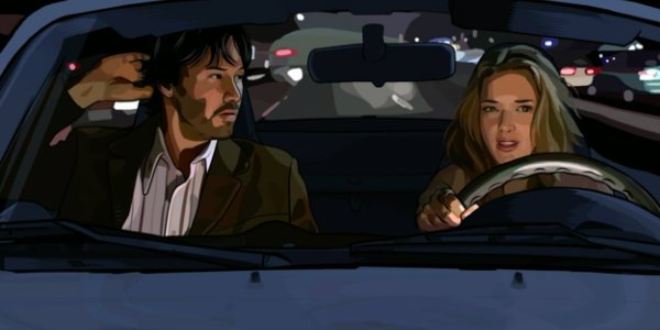 Keanu Reeves Winona Ryder A Scanner Darkly
