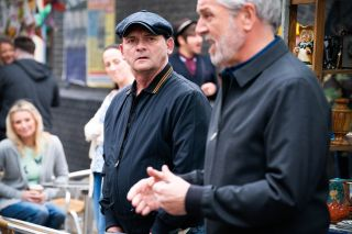 Billy Mitchell vies with Rocky Cant in EastEnders
