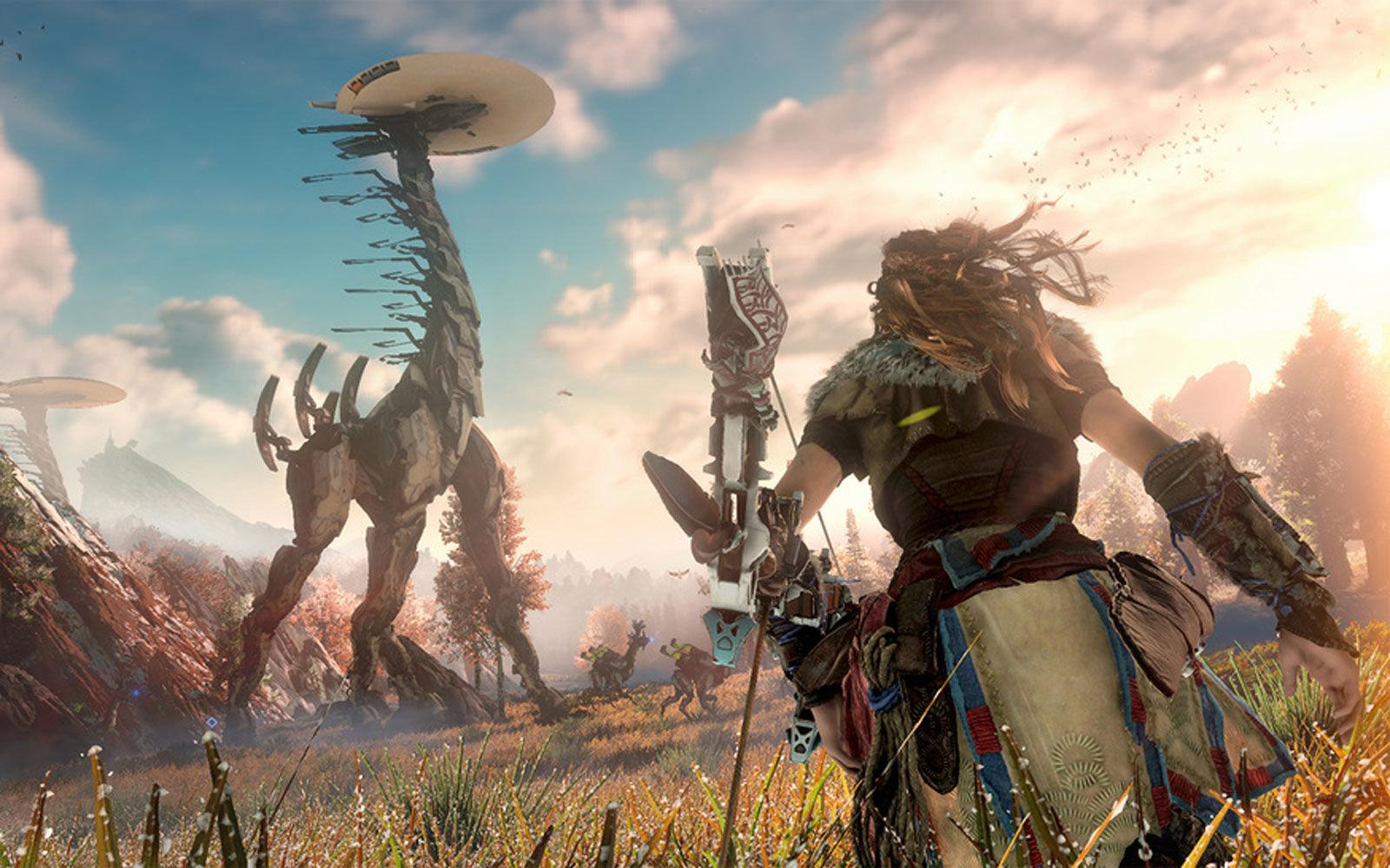 Everything we know about Horizon: Zero Dawn on PC   PC Gamer