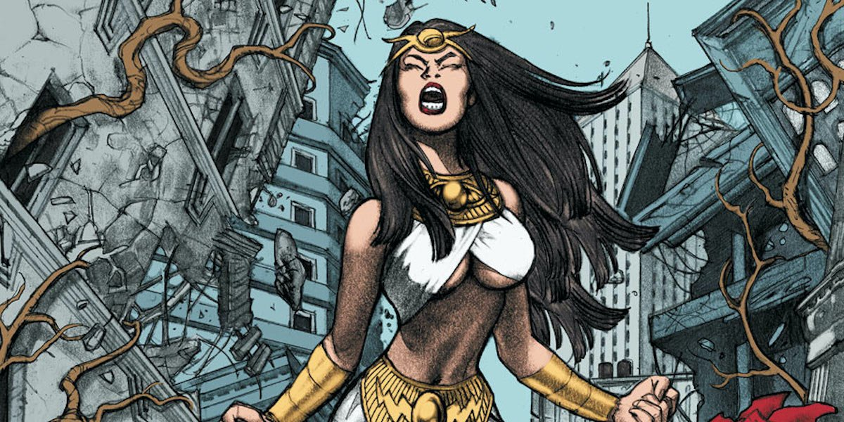 Isis DC Comics