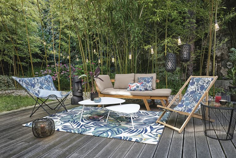 Maisons du monde outdoor rugs and outdoor living space