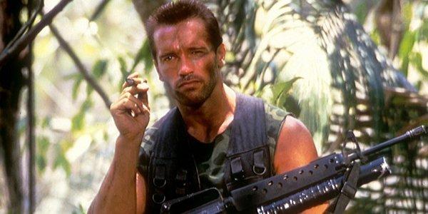 Arnold Schwarzenegger in Pedator