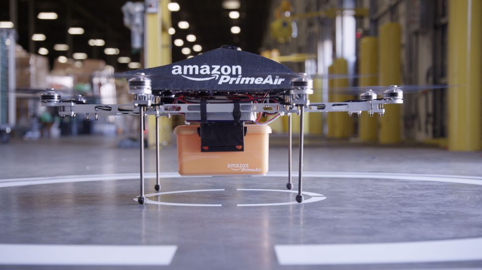 Amazon patent outlines anti-hacking measures to protect delivery drones