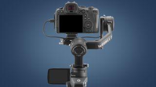 Back of the Zhiyun Weebill 2 camera gimbal