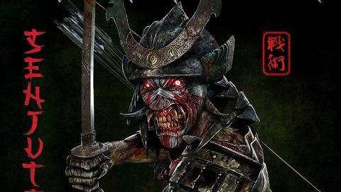 Album art with an illustration of Samurai Eddie