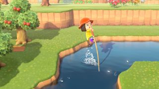Animal Crossing: New Horizons vaulting pole