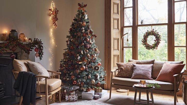 Silver Christmas tree by The White Company