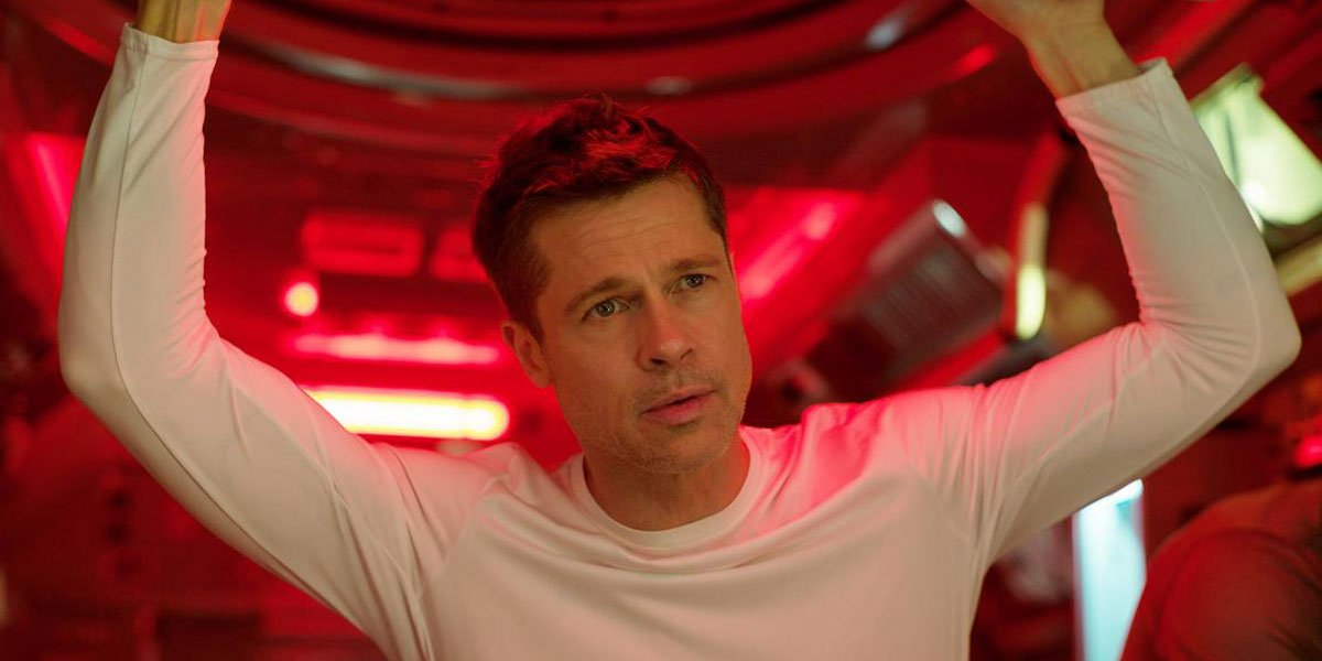 Brad Pitt in Ad Astra 2019
