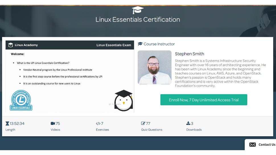 Linux Academy: Linux Essentials course | TechRadar