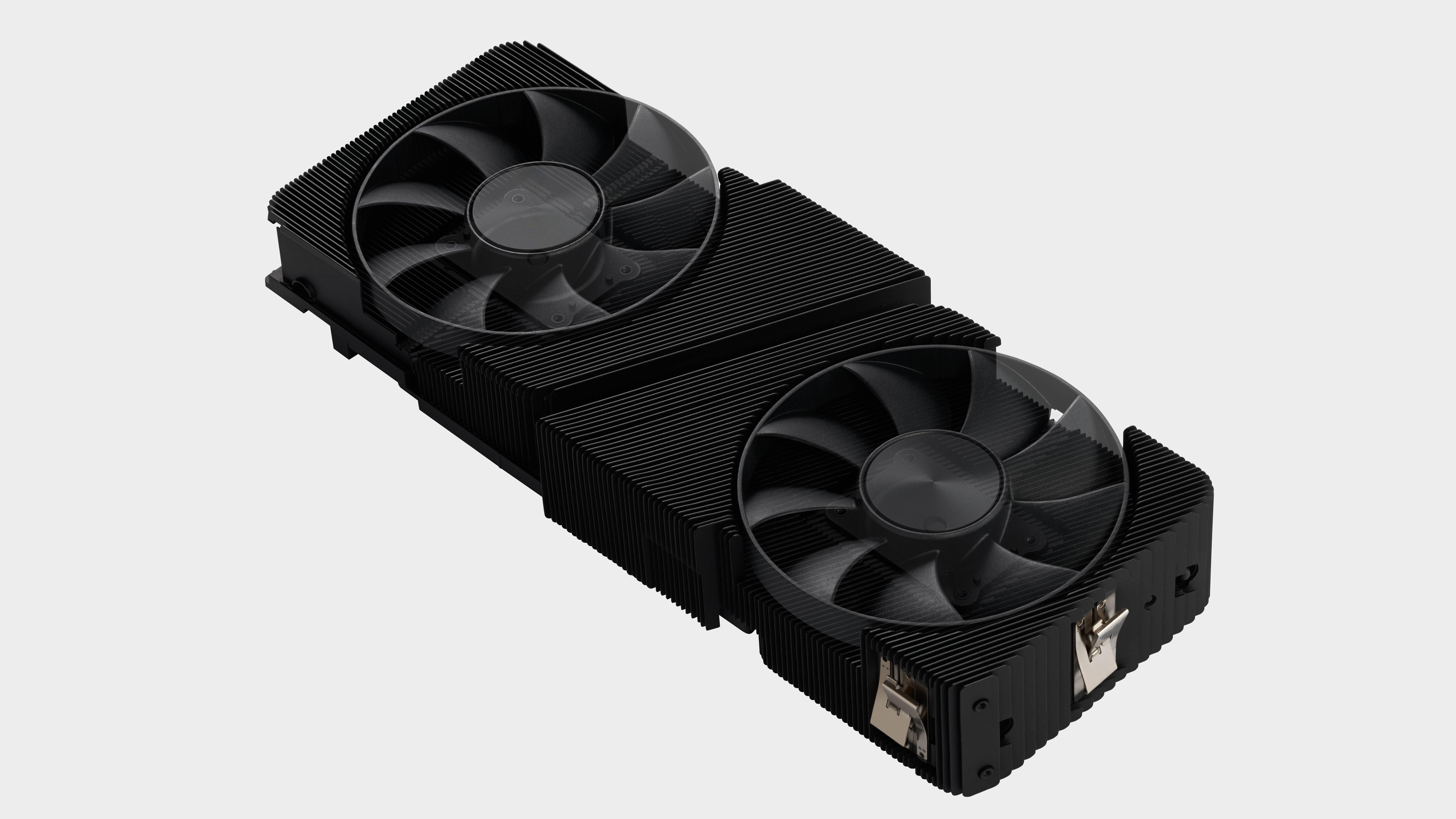 Nvidia RTX 3060 Ti cooler without shroud