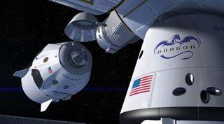 SpaceX Crew Dragon illustration