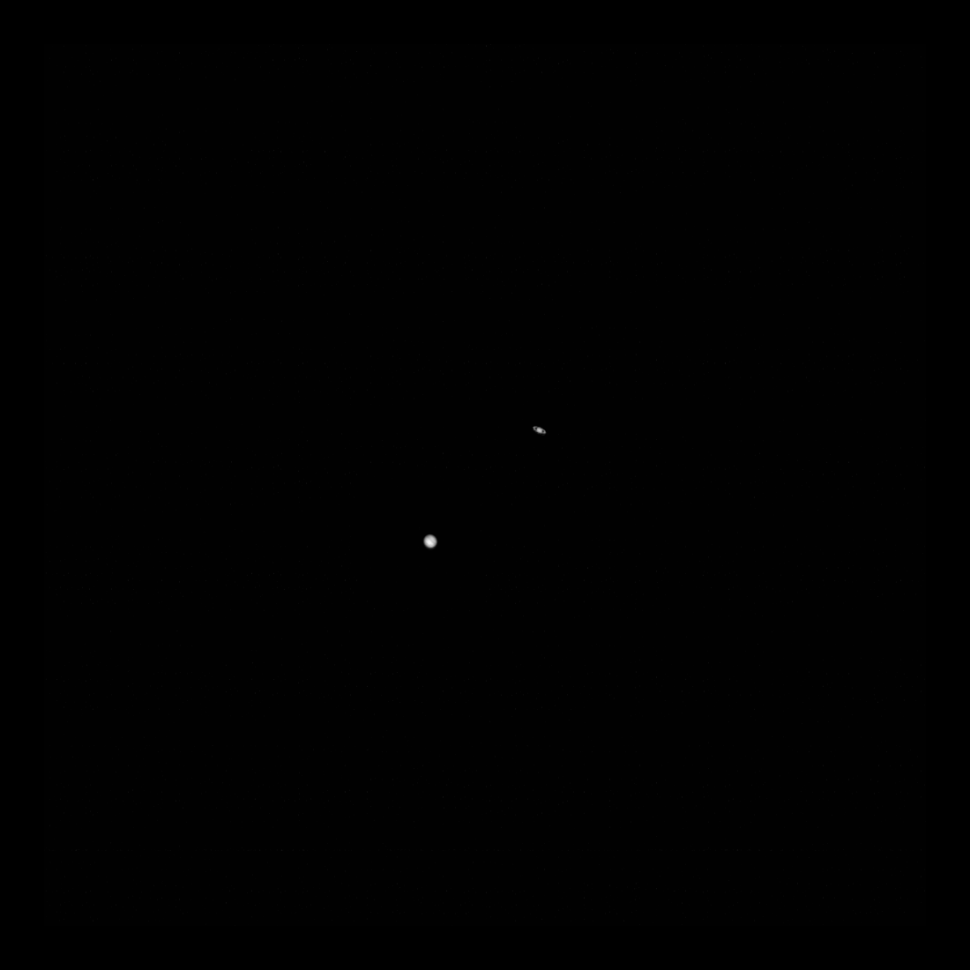 NASA probe snaps 'great conjunction' photo of Jupiter and Saturn from the moon