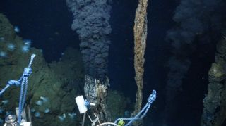 The deepest known vent, at nearly 5 kilometers (3 miles) beneath the ocean surface.