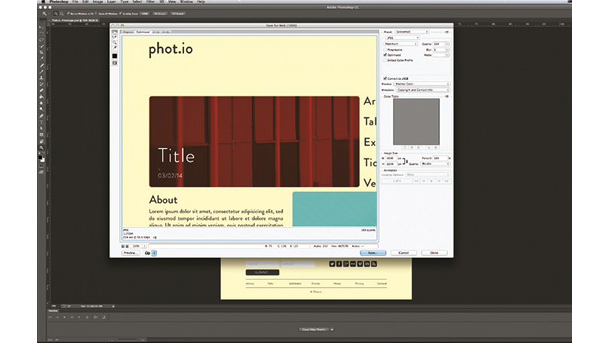 Photoshop tutorials: rapid prototyping
