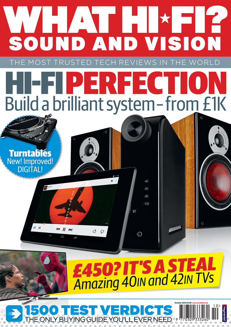 Build a brilliant hi-fi system with our October 2014 issue – on sale