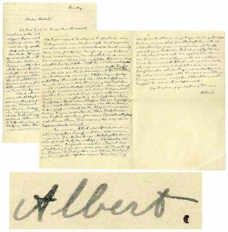 Einstein Letter